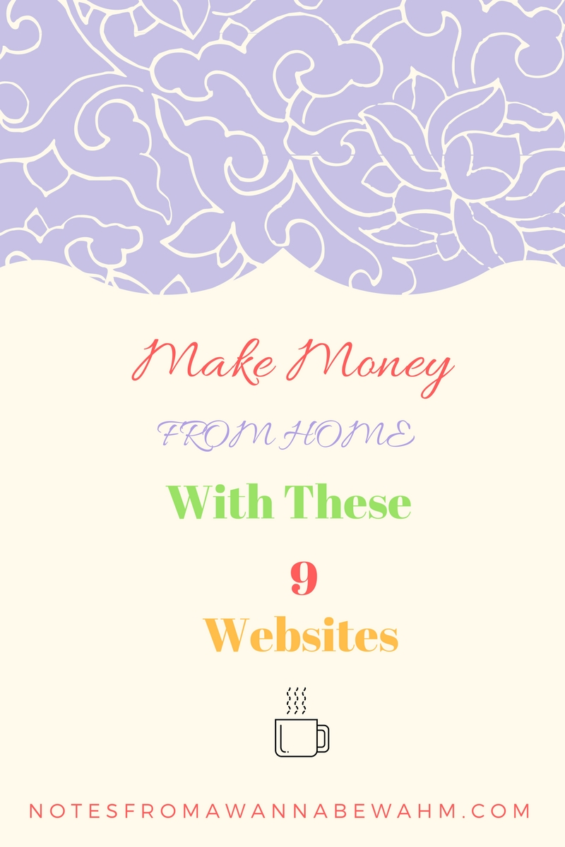 make money from home with these 9 websites