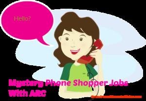 mystery phone shopper jobs