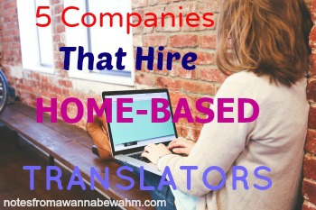 Home-Based Translation Jobs