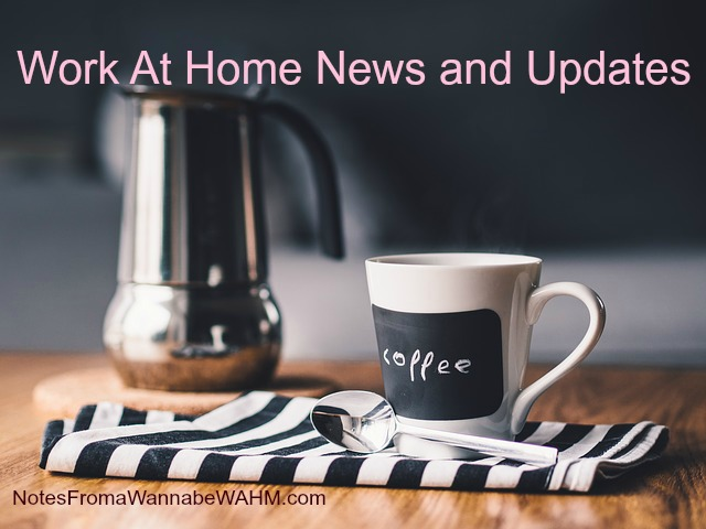 work at home mom news