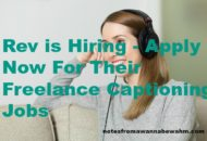 Caption Videos for Rev and earn an extra $240 a month. Jobs go quickly, apply now.