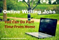 work from home doing online writing jobs
