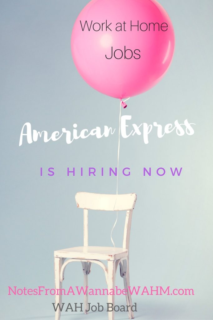 American Express Jobs From Home