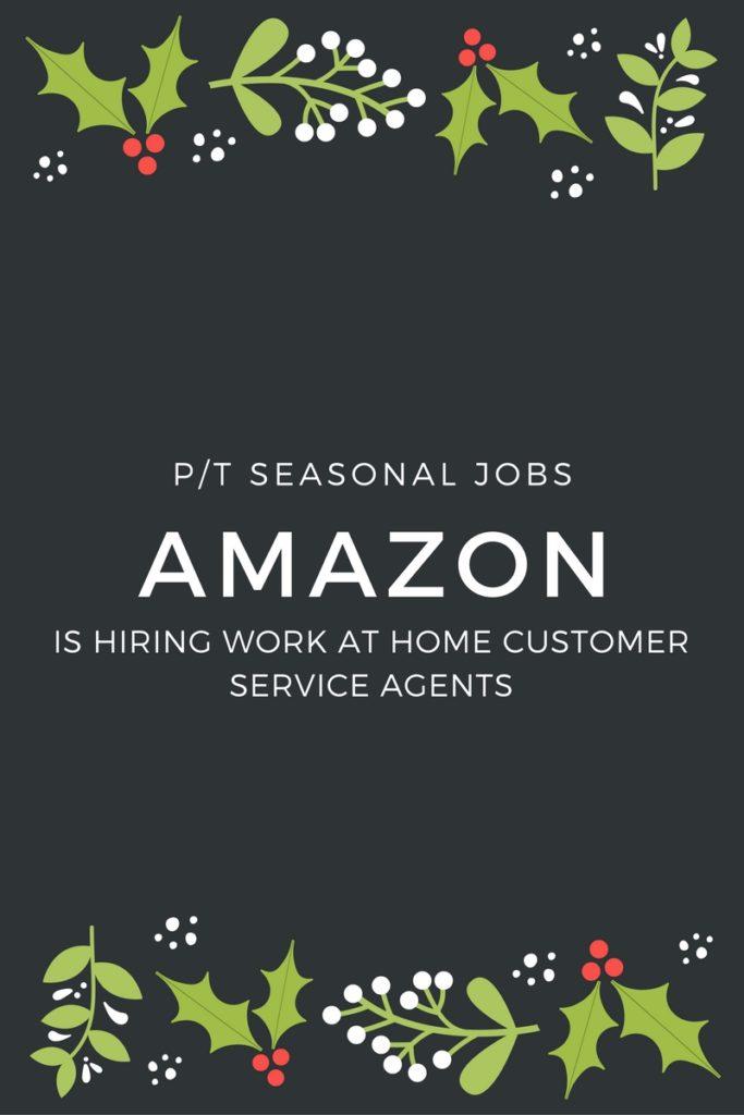 Amazon Seasonal Jobs