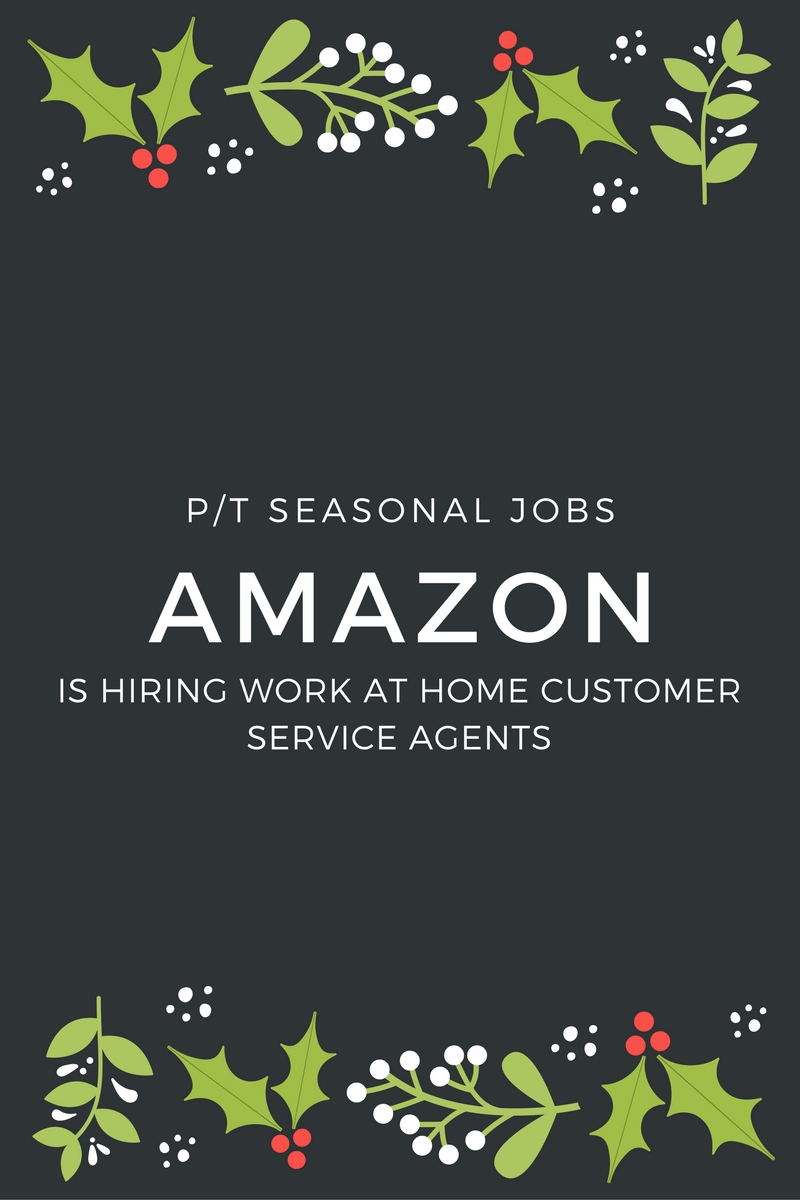 Amazon Seasonal Jobs